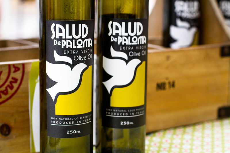 Salud de Paloma Texas Extra Virgin Olive Oil