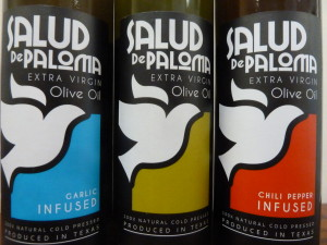 Salud de Paloma Garlic Infused, Traditional, and Chili Pepper Infused Extra Virgin Olive Oils