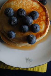 Healthy Blueberry Pancake Recipe by Sweet Life